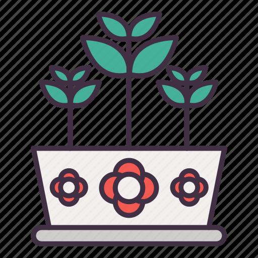 flower, gardening, nature, plant, pot icon