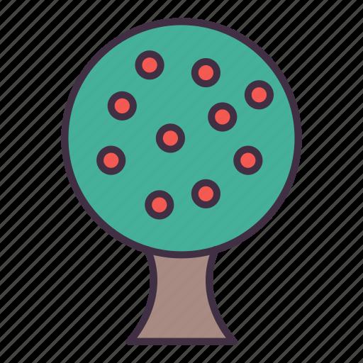 gardening, tree icon