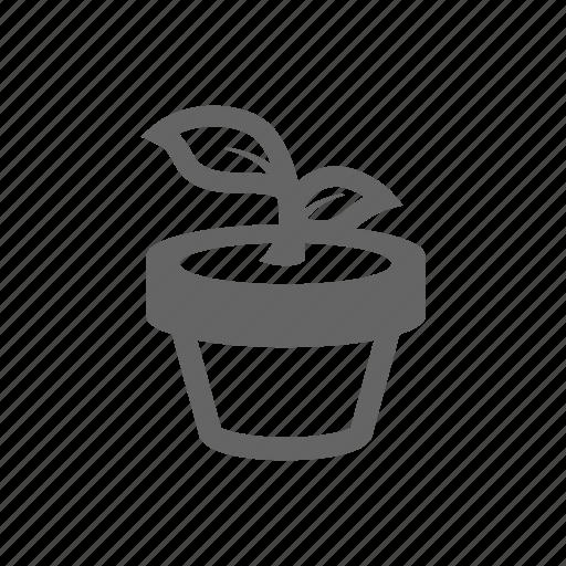 equipment, gardening, gardens, leaf, nature, plant, pot icon