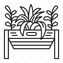 garden, gardening, patio, plants icon