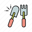 agriculture, garden, plant, planting, seed, seeding, soil icon