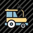 agriculture, farm, farming, garden, gardening, tractor, vehicle icon