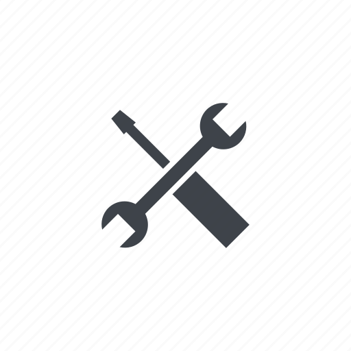 construction, maintenence, screwdriver, tools, wrench icon