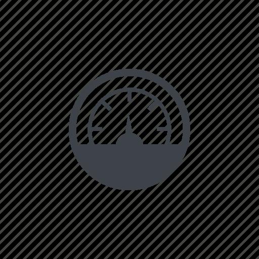 fuel gauge, gauge, odomenter icon