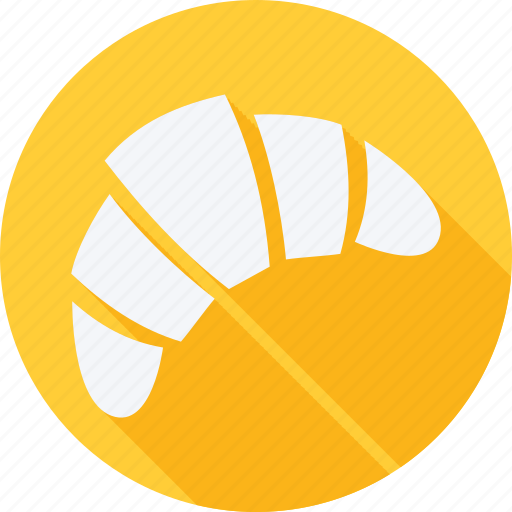 Bekary, food, foods, gastronomy, restaurant, croissant icon - Download on Iconfinder