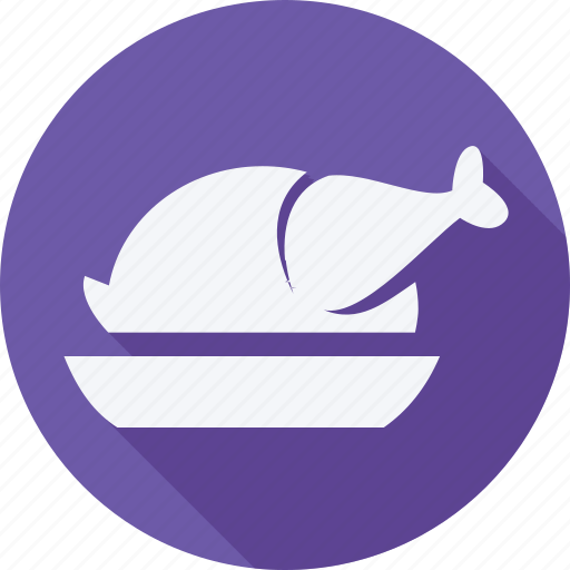 bekary, food, foods, gastronomy, restaurant, roast chicken icon