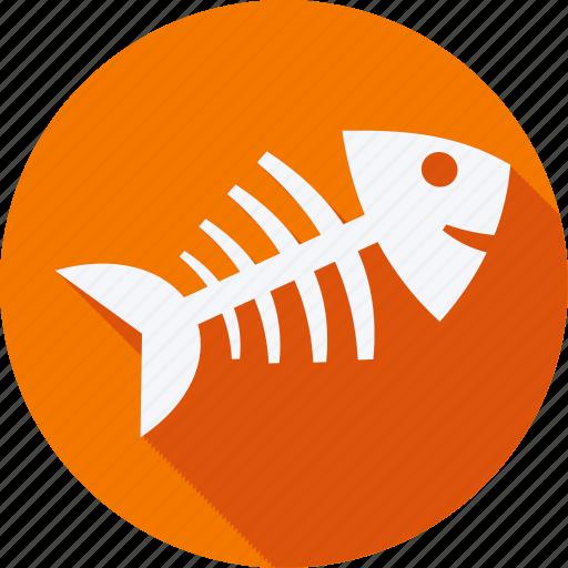 Bekary, food, foods, gastronomy, restaurant, fishbone icon - Download on Iconfinder