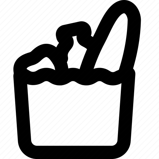bag, cooking, food, gastronomy, grocery icon