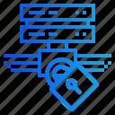data, gdpr, privacy, server, storage icon