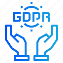 gdpr, hands, insurance, protection, security