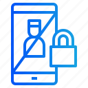 gdpr, lock, online, policy, smartphone icon