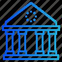 pantheon, regulation, law, bank, rome