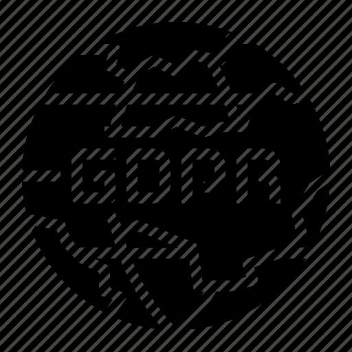 Gdpr, global, internet, network, online icon - Download on Iconfinder
