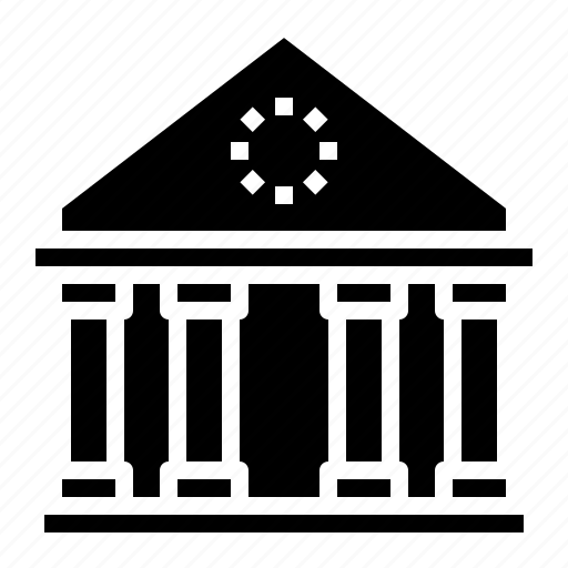 bank, law, pantheon, regulation, rome icon
