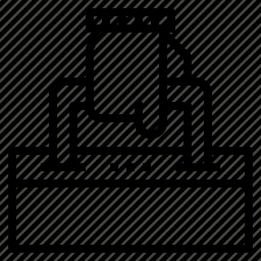 data, handbag, policy, secret, spy, top icon
