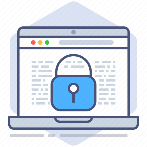data, gdpr, lock, notebook, policy, privacy, secure icon