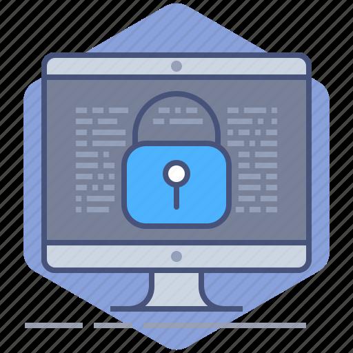 computer, data, gdpr, lock, pc, policy, privacy icon