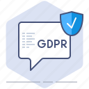 cookies, data, file, gdpr, policy, privacy, secure icon