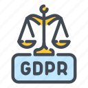 gdpr, justice, law, legal, protection, scale, security