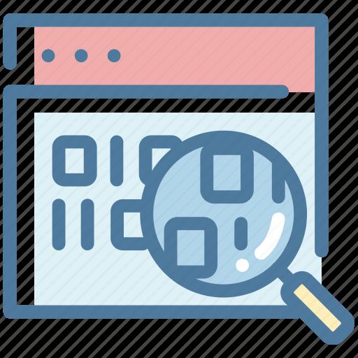 Audit, data, database, information, webpage icon - Download on Iconfinder
