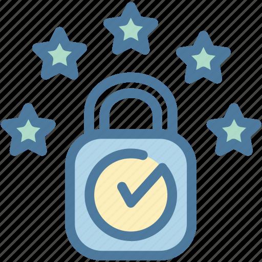 compliance, eu, gdpr, license, locked, privacy icon