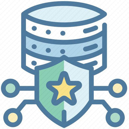 Lock, protection, server, storage icon - Download on Iconfinder