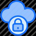 lock, cloud, data, protection