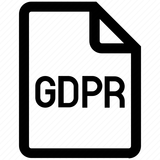 document, file, gdpr, page, protection, secure, security icon