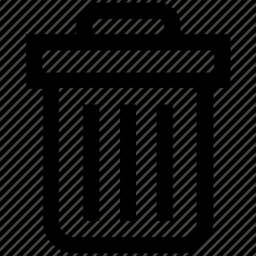 basket, bin, cleaning bin, dust, dust bin, recycle bin, trash icon