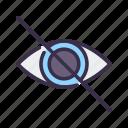 eye, gdpr, hidden, hide, view, vision