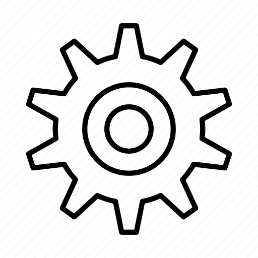 cog, gear, options, preferences, setting, settings, tech icon