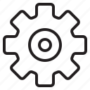 gear, hardware, service, tool icon