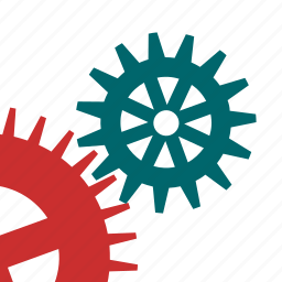 cog, details, gears, mechanism, technical, tools, works icon