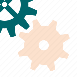 detail, gears, mechanism, technical, tool, works icon