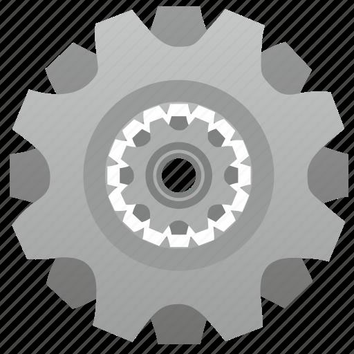 cog, cogwheel, engine, gear, machine, settings icon