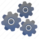 engine, gear, machine, mechanism, settings icon