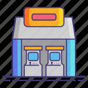 arcade, geek, shop, store icon