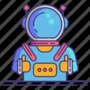 astronaut, spaceman, spacesuit icon