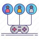 convention, gamepad, gaming, people icon