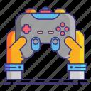 controller, game, joystick