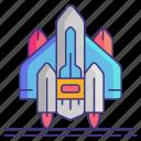launch, rocket, space, spaceship