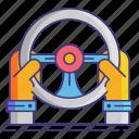 gaming, pc, steering, wheel