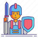 game, rpg, video icon