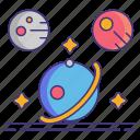 galaxy, planet, space, universe