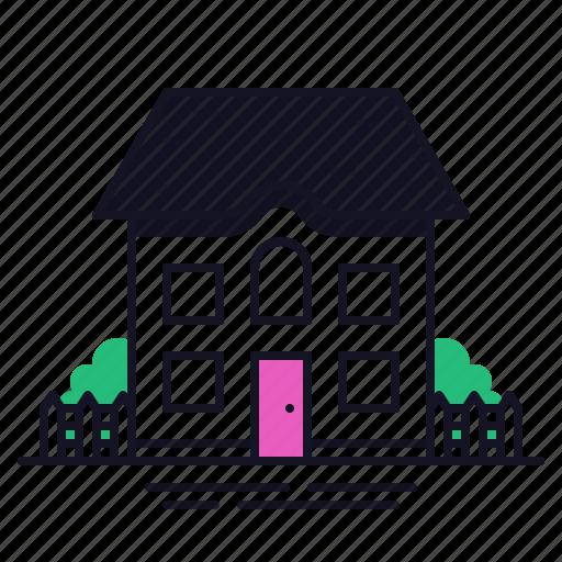 building, condo, home, house, multi story icon