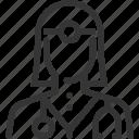 avatar, dental, doctor, female, health insurance, hospital, life icon