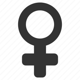 female symbol, feminine, girl, lady sex, venus, woman gender, women icon