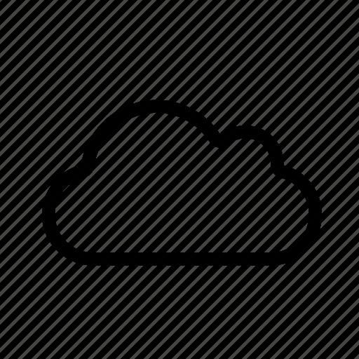 cloud, cloudy, rainfall, rainy icon