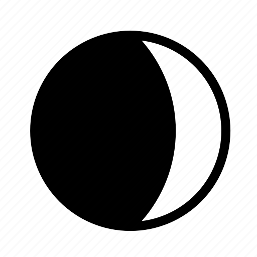 dark, day, moon, night icon