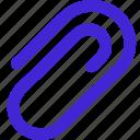 add, bond, clip, fix icon